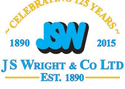JSW 125years logo