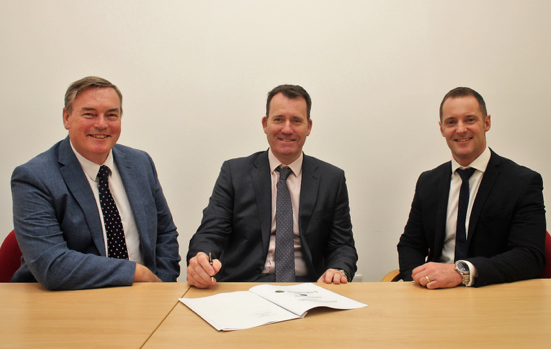 J S WRIGHT SIGNS PUMP PROTOCOL WITH SUPPLIERS
