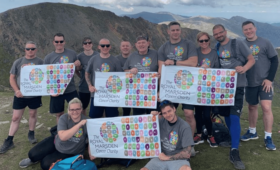 J S WRIGHT TEAM RAISES £10,000 FROM SNOWDONIA CHALLENGE