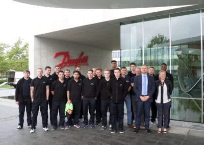SAV Systems hosts the Academy on a visit to the Danfoss factory in Denmark