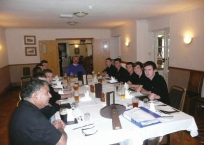 Apprentice of the Year presentations and awards are held at a hotel in Worcester
